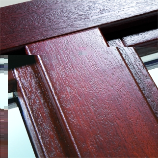 The best wood for windows of the Euro window with double-glazed windows